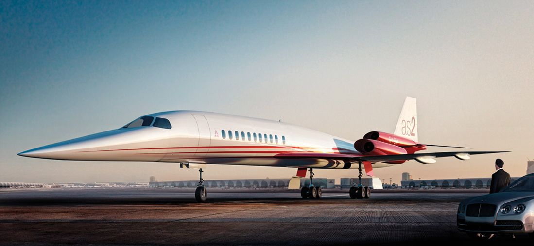 Aerion Supersonic - AS2
