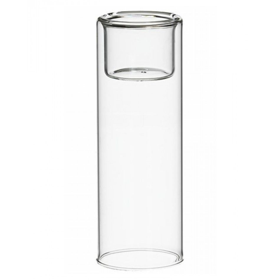 clear glass tealight candle holder case of ud tea