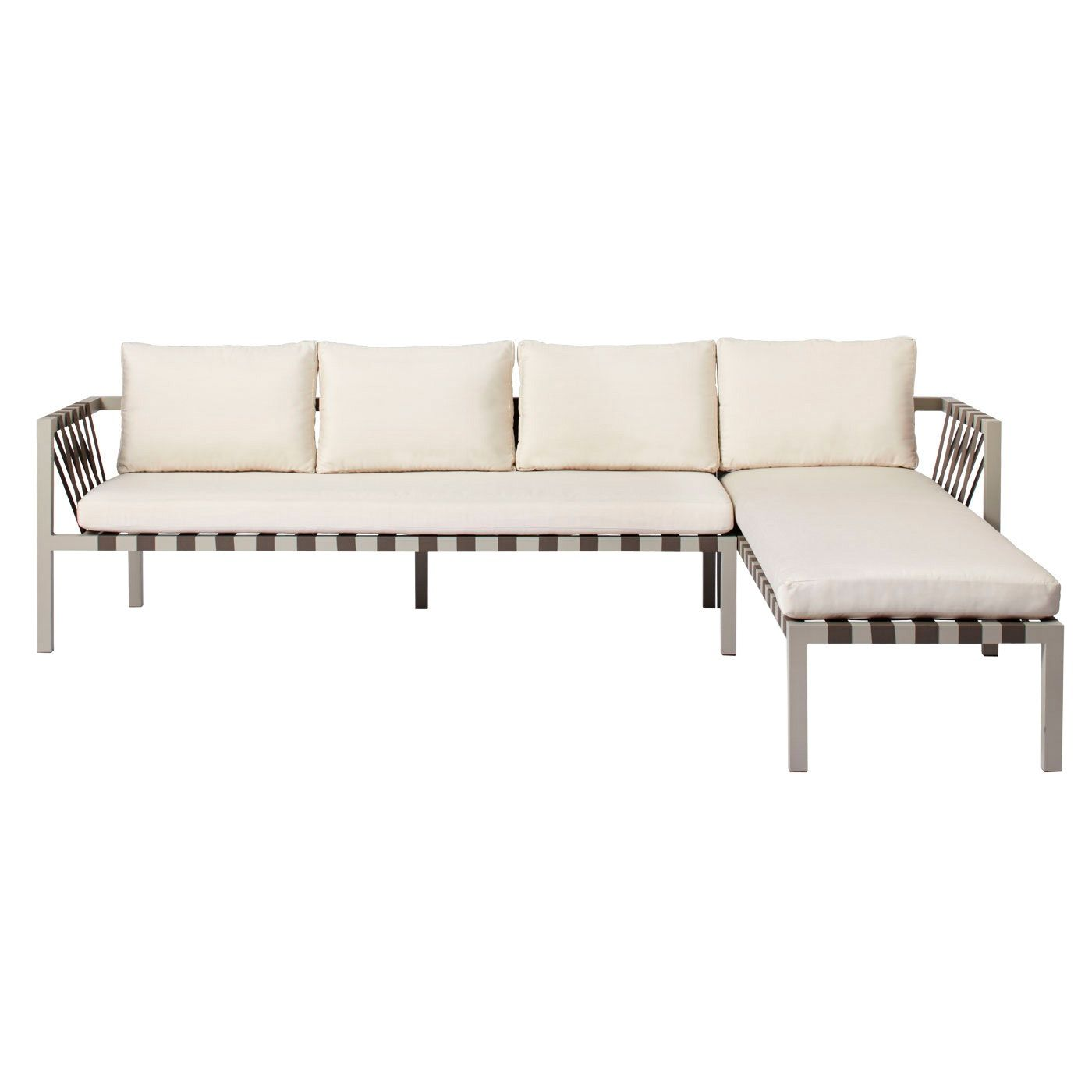 Jibe Outdoor Sectional Sofa Contemporary Mid Century Modern