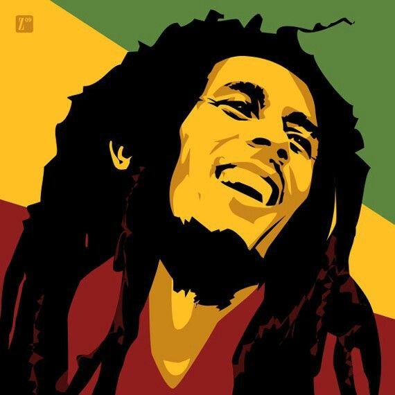 Bobmarley Vector Art With Images Bob Marley Art Bob Marley