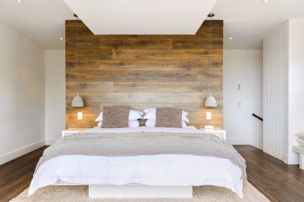 Das moderne Schlafzimmer sollte mit möglichst wenig Möbeln