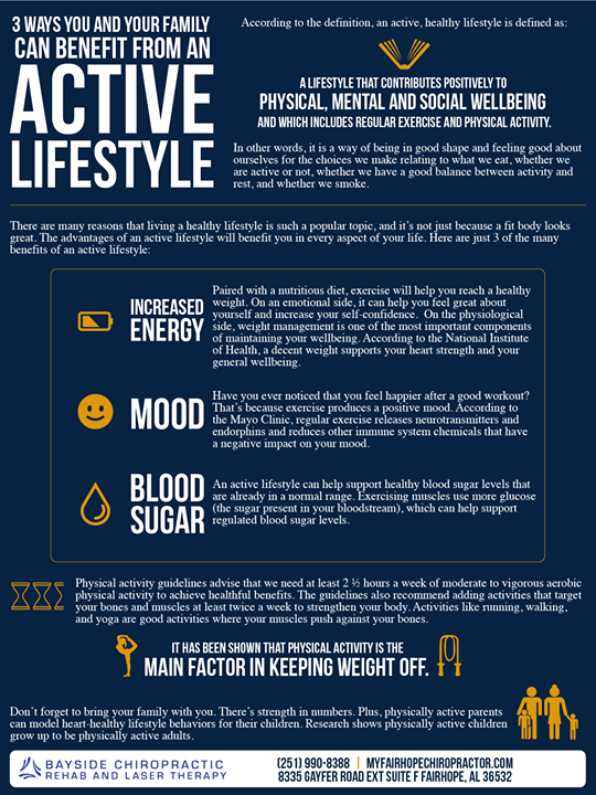 Help Keep An Active Lifestyle For Your Family With These Tips From Bayside Chiropractic Rehab And Laser Therapy Active Tips Fam Laser Therapy Rehab Therapy