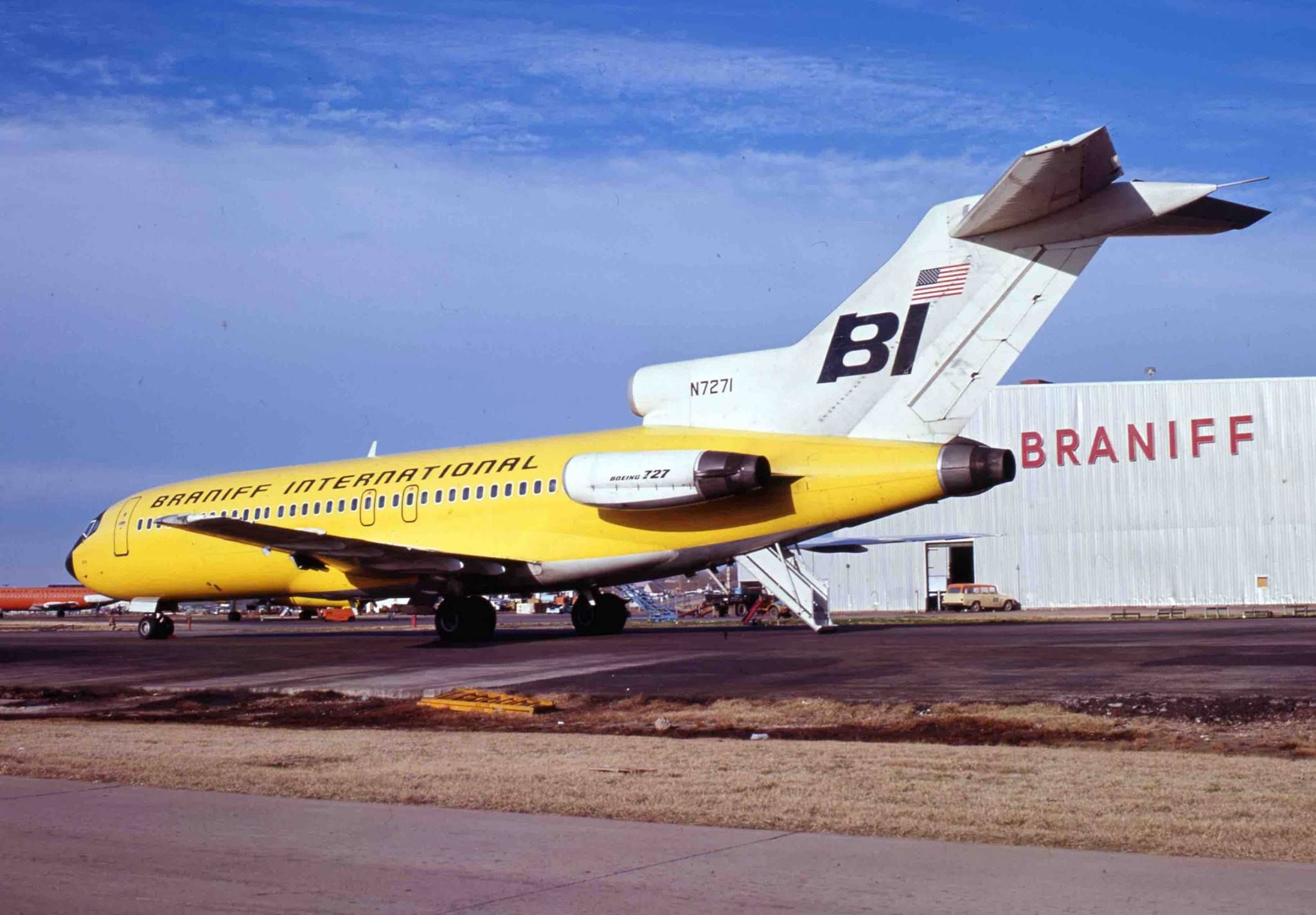 On December 2, 1966, Braniff International inaugurated the