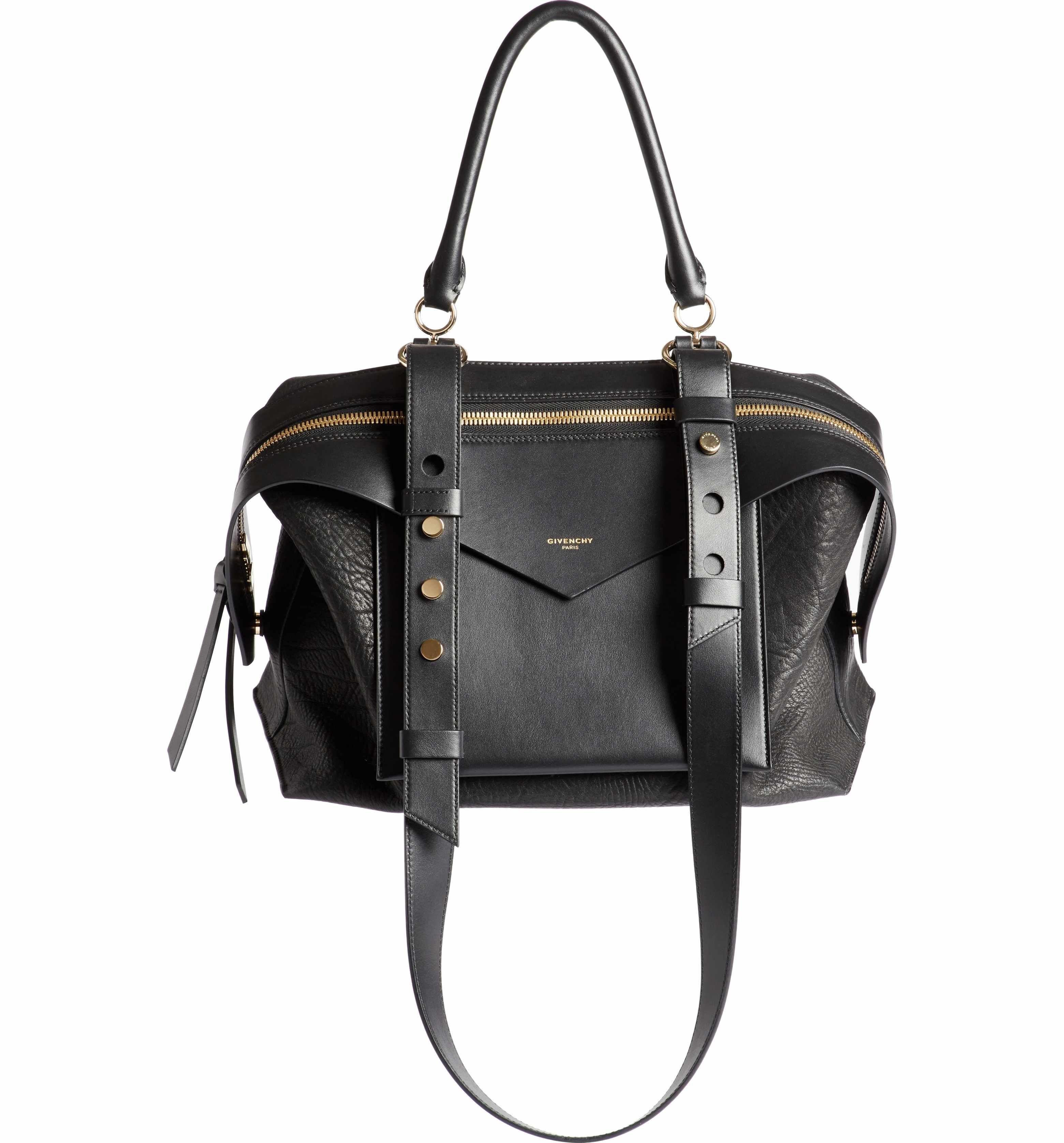 bf9e56d2595 Main Image - Givenchy Medium Sway Leather Satchel   Bag Swag ...