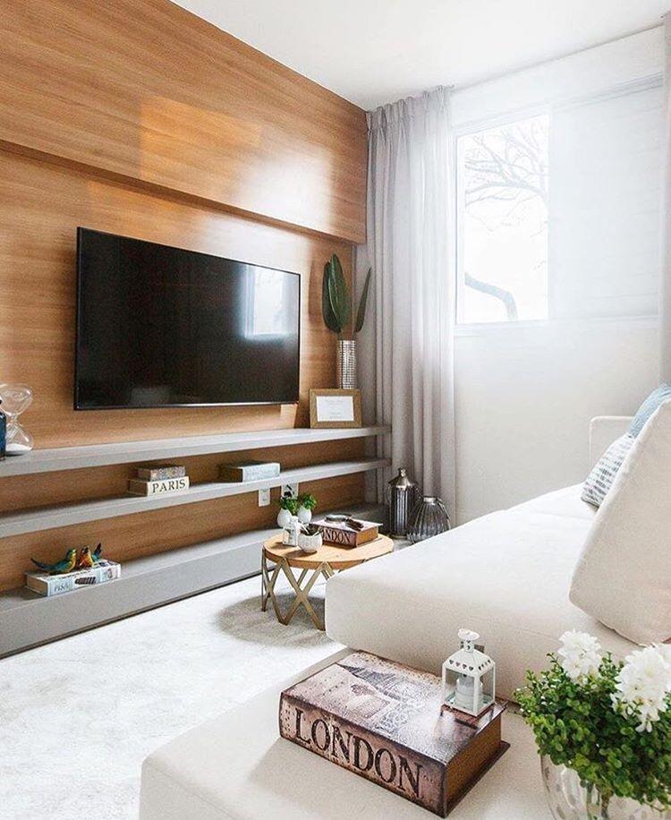 M vel para tv minimalista e bel ssimo decora o painel tv for Sala casa minimalista