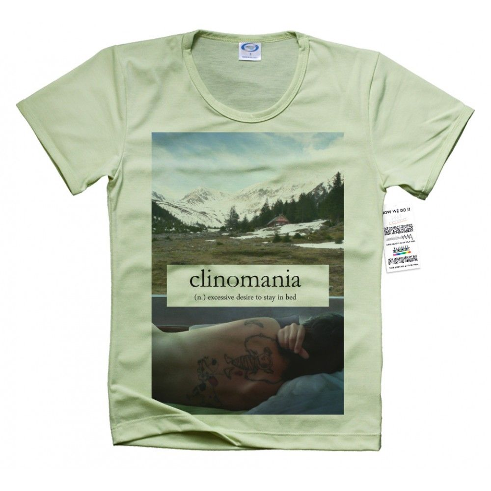 Clinomania T Shirt Design
