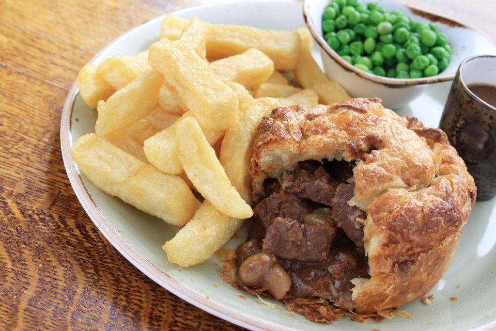 Steak and Mushroom Pie is a Comfort Food - Buckhorn Inn in ...