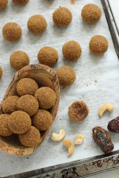 Gingerbread Cookie Dough Balls
