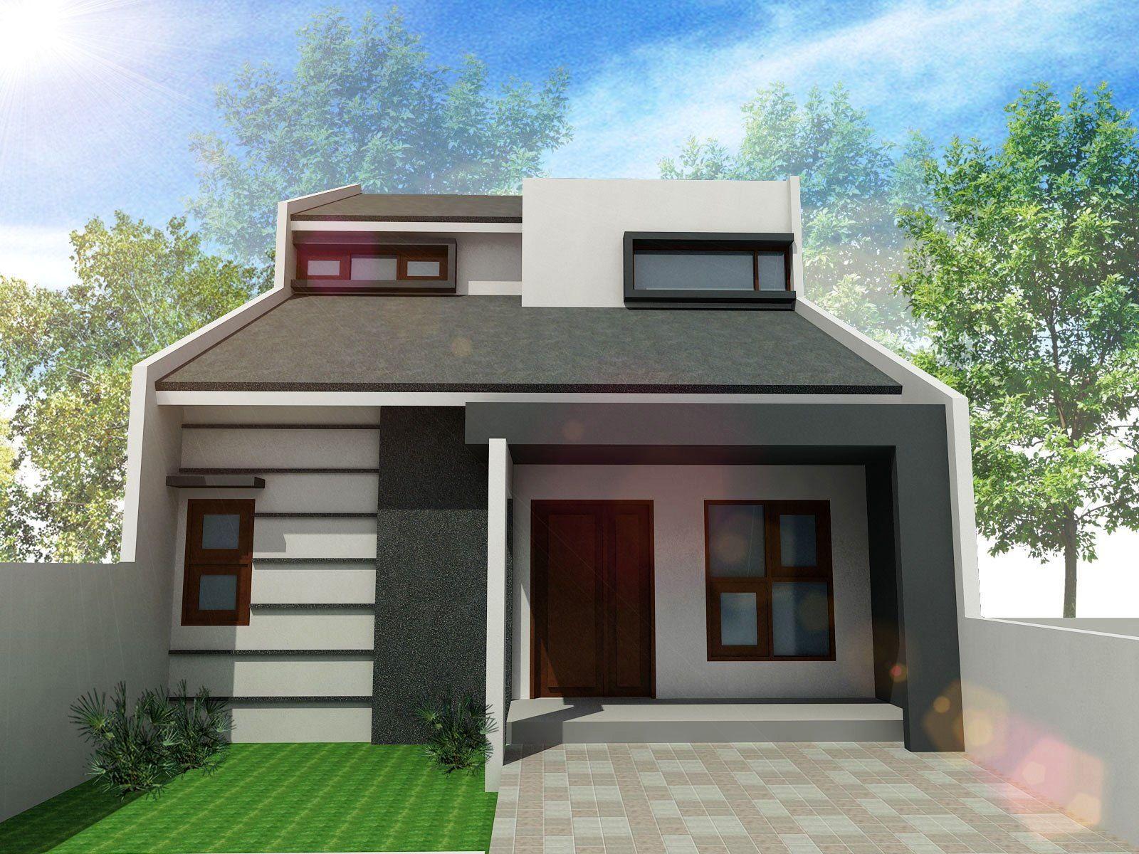 Desain Rumah Minimalis 1 Lantai Cantik Elegan Contoh