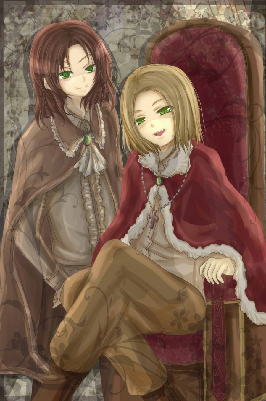 """Ya got any idea what we should, like, do with the poor idiot, Liet?"" ......... ""Whatever you want, love."""