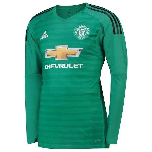 Manchester United Home Goalkeeper Shirt 2018 19 Man Utd Manchester United Home Goalke Manchester United Manchester United Football Kit Manchester United Team