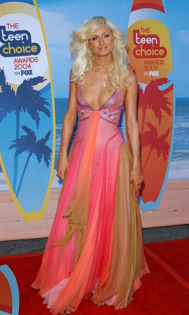 7a9bc72a2642 Paris Hilton Photos Photos: 2004 Teen Choice Awards | Paris Hilton ...