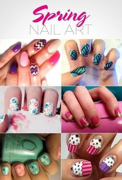 Not A Website Just Some Cute Nail Ideas Nails Pinterest