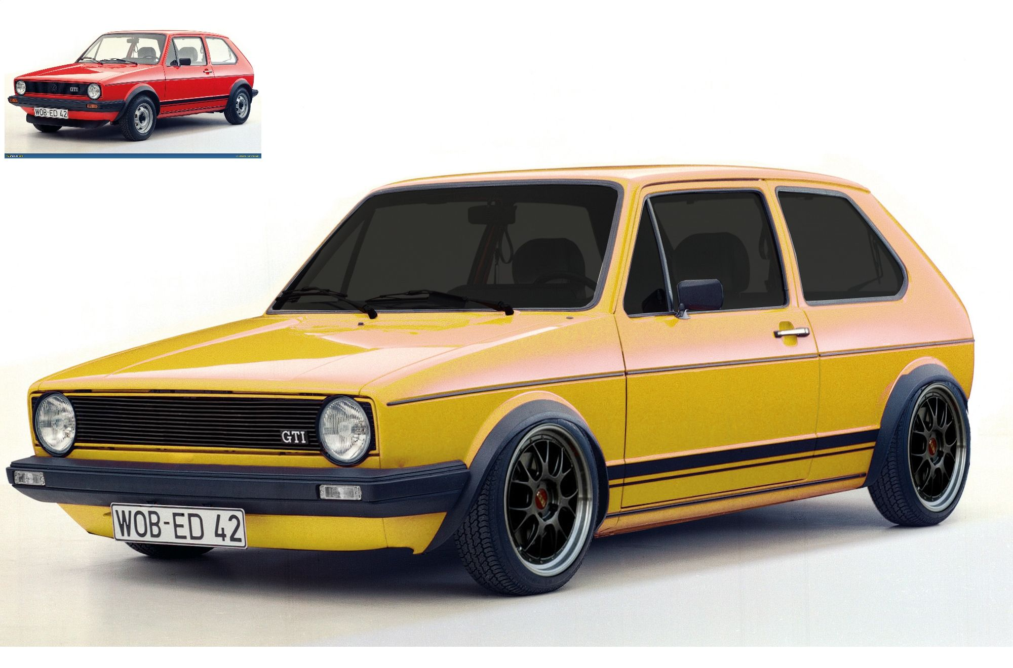 Vw Golf Gti Mk1 Golf Gti Mk1 Volkswagen Golf Mk1 Golf Gti