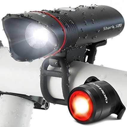 Bicycle Headlight USB Rechargeable MTB Front Lamp Torch Cycling Equipment Lights