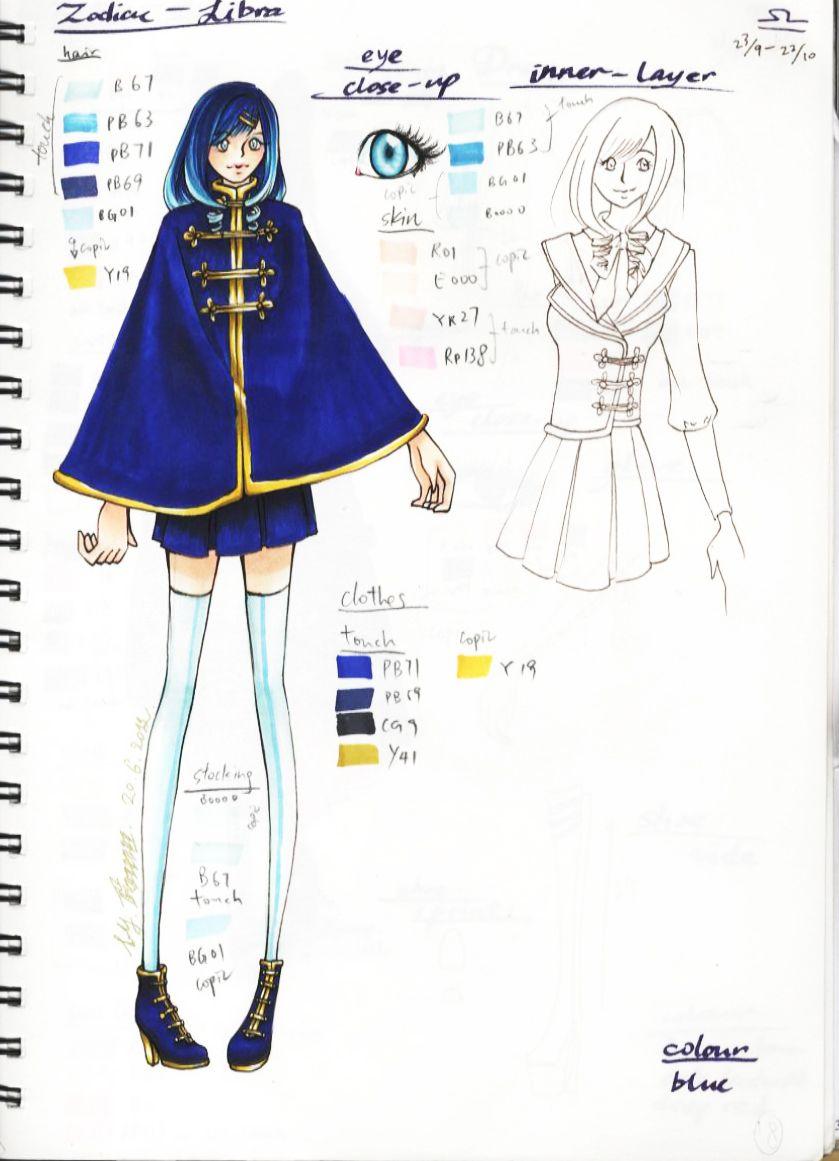 Anime Characters Zodiac Signs Libra : Zodiac character design libra sun signs