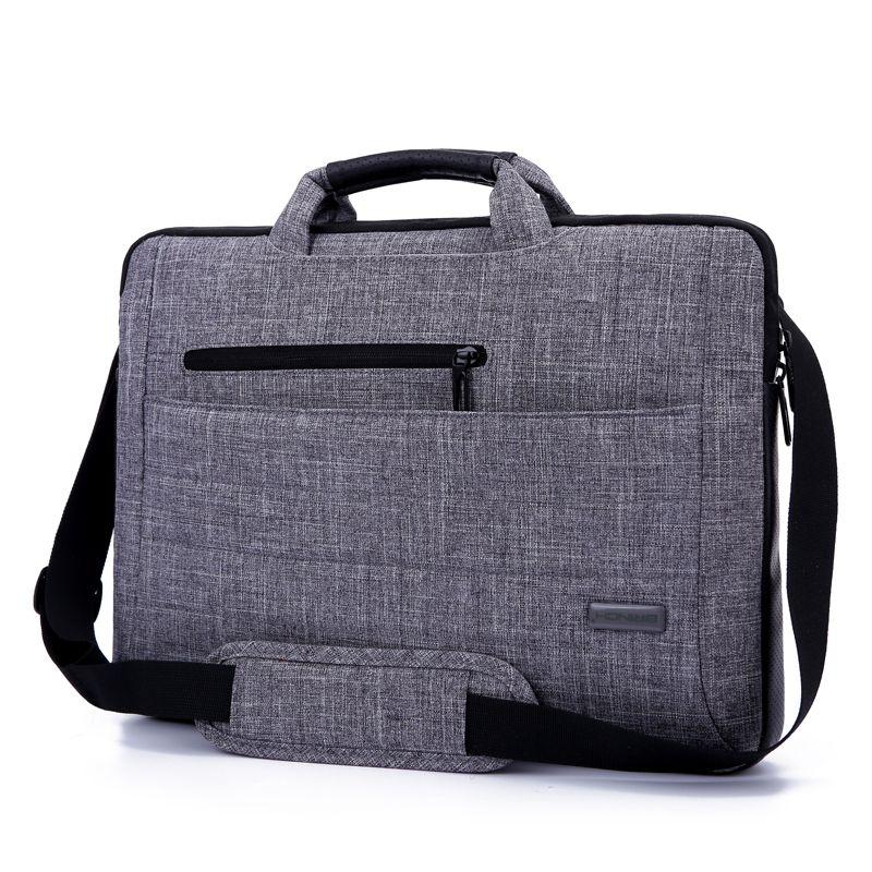 Brinch Brand 14 15 14 6 15 6 Inch Notebook Computer Laptop Sleeve Bag For Men Women Cover Case Briefcase Shoulder Messenger Bag In Laptop Dizustu Canta Cuzdan