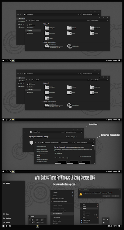 Pin by Cleodesktop on Theme Windows 10 Theme, Windows