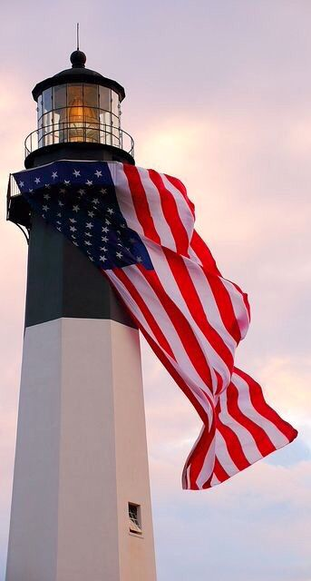 Tybee Island Lighthouse, Georgia | Lighthouse pictures ... |Lighthouse Flag Efficiency