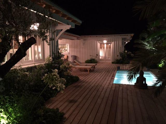 Villa en bois Cap Ferret 44 Hectares Agence Immobilière du Cap ...