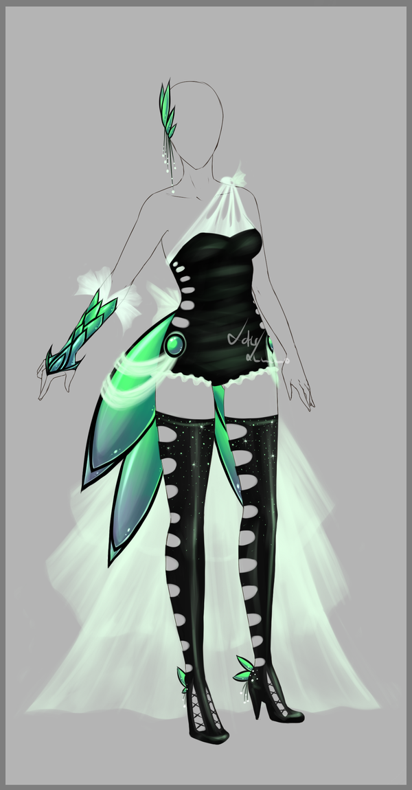 Outfit design 82 closed by LotusLumino on deviantART