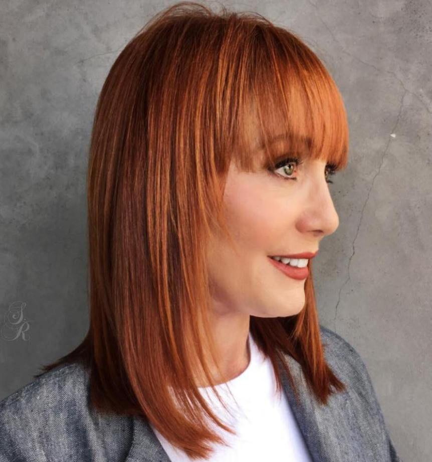 40 fun and flattering medium hairstyles for women | medium