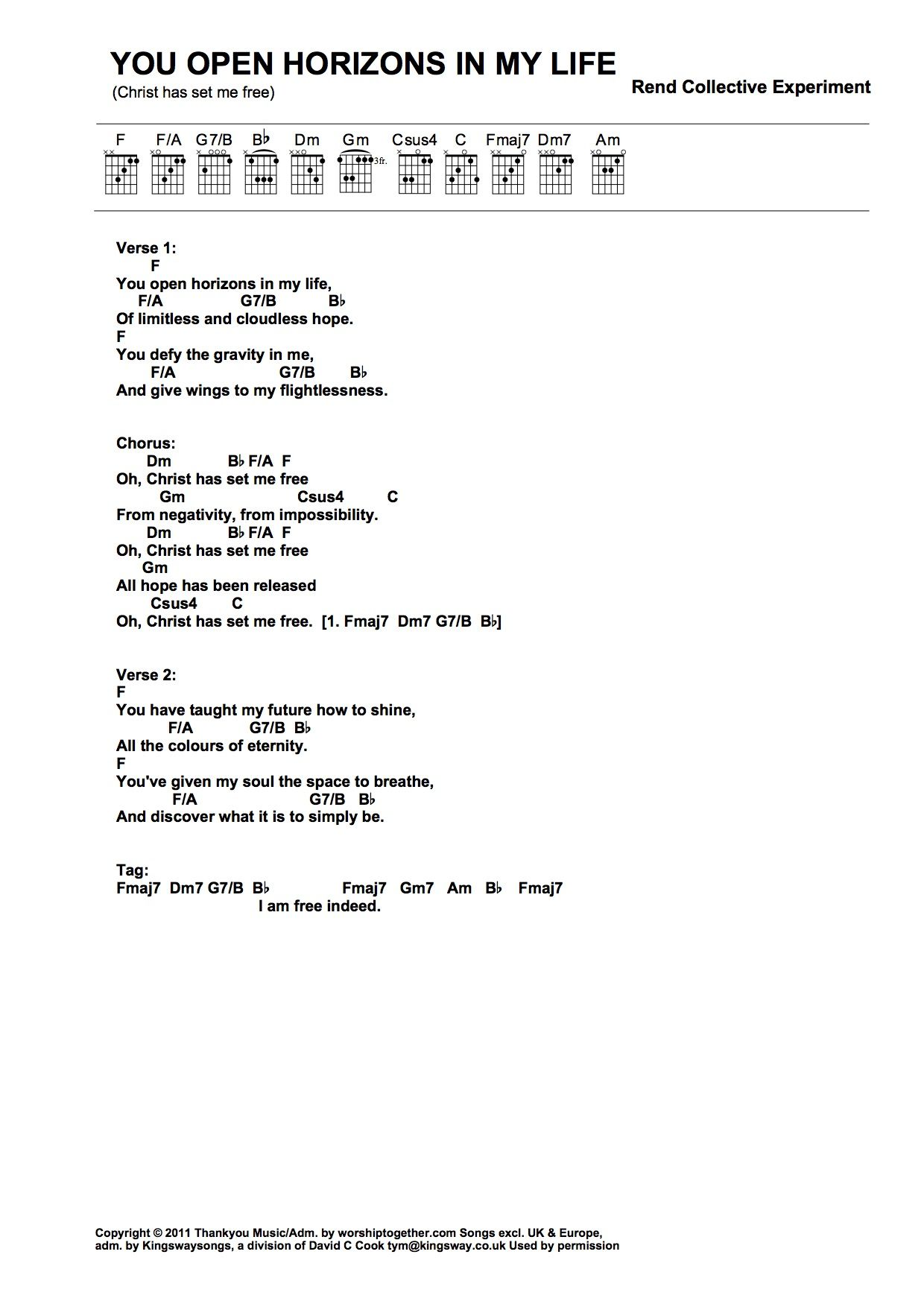 i see the lord ron kenoly chords pdf