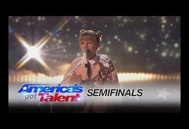 5a3215378e543  Next Taylor Swift  Grace VanderWaal WOWS America s Got Talent Crowd With  Another Gorgeous Original