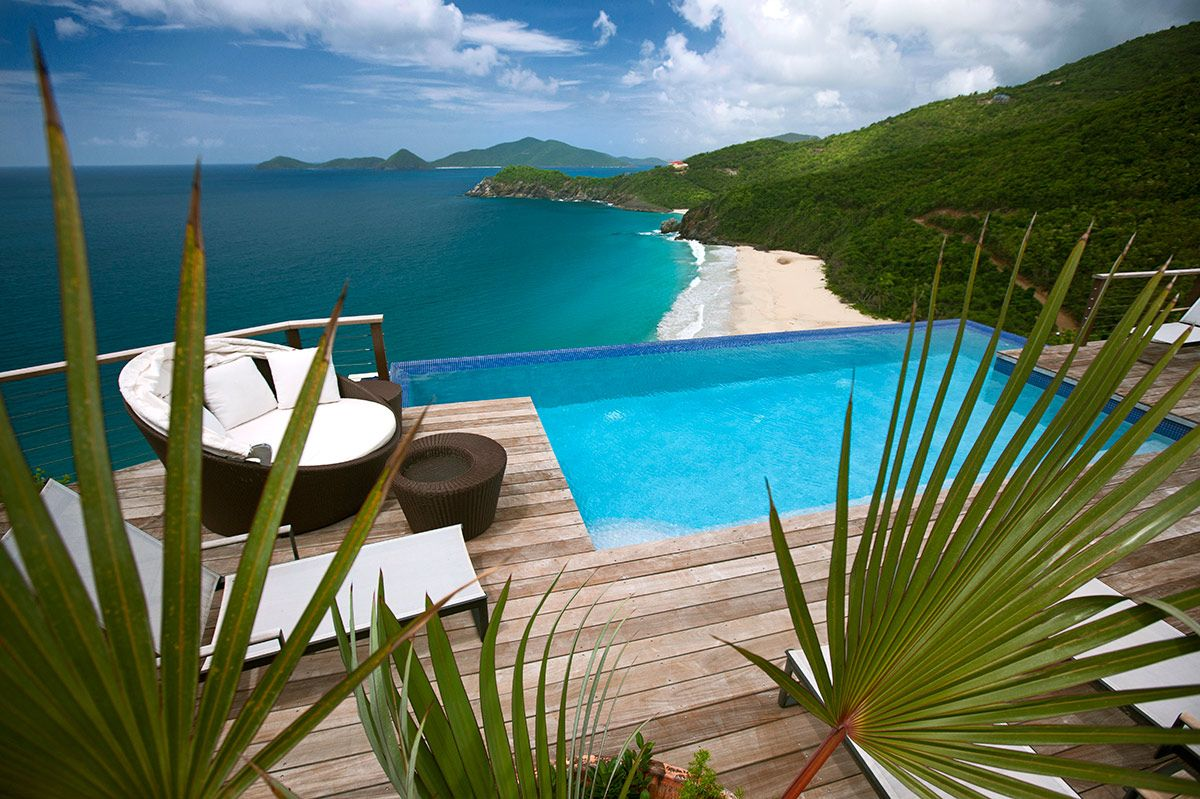 Aja a 5 bedroom villa on the Caribbean island of Tortola