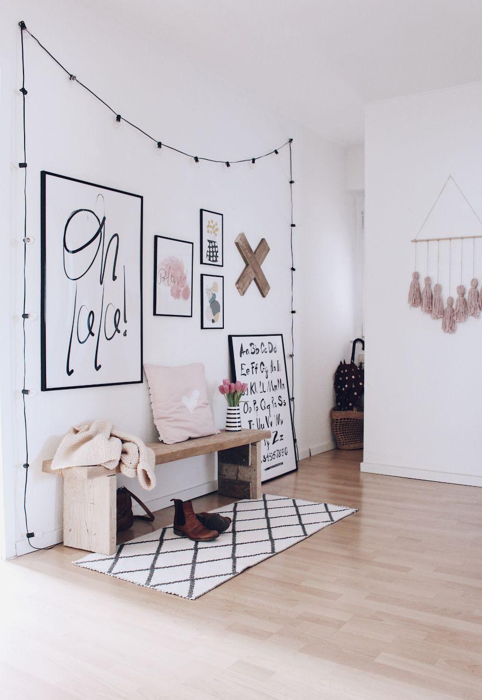 flur hell und einladend gestalten so wird dein flur der hingucker wohnen pinterest. Black Bedroom Furniture Sets. Home Design Ideas