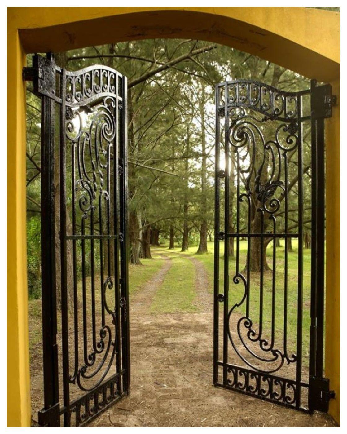 Porton colonial herreria en 2019 - Puertas disenos modernos ...