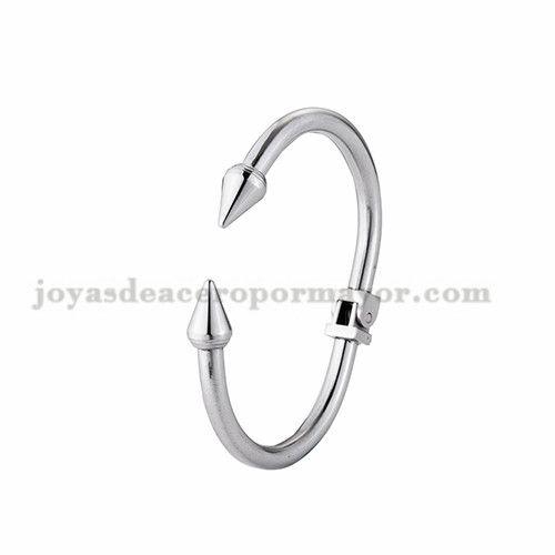 Pulsera De Clavo De Plateado En Acero Inoxidable Para Mujer Ssbtg924160 Jewelry Bathroom Hooks