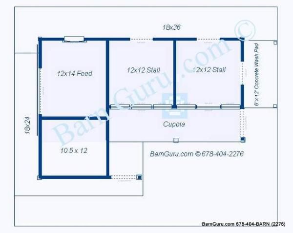 Two Stall Horse Barn Plan Horse Barn Plans Diy Horse Barn Horse Stables Small