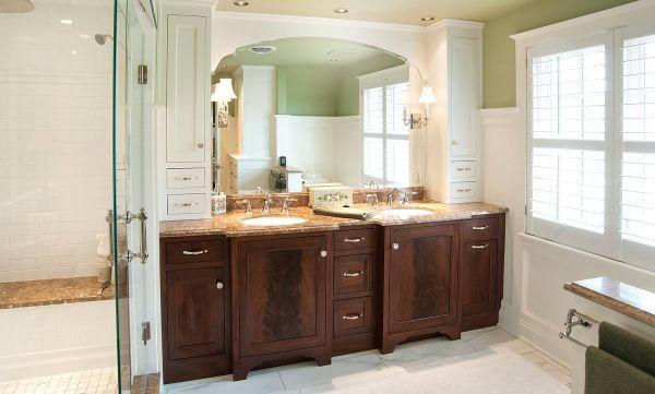 Master+Bathroom+Photos+Gallery Mahogany Master Bath Cabinets in