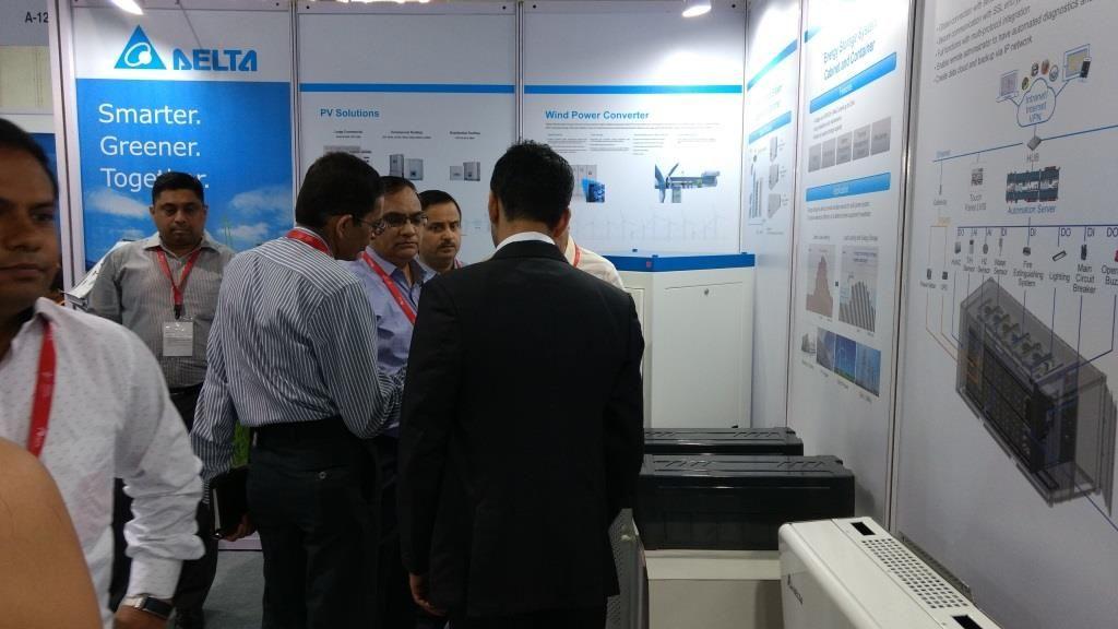Delta Exhibits Its Latest Energy Storage Solutions At Energy Storage India 2017 Energy Storage Storage Solutions Solutions