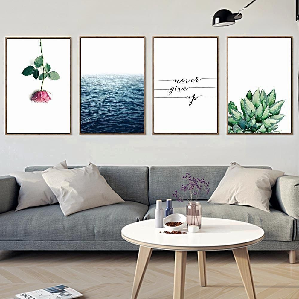 Never Give Up Print Choose More Awesome Wall Art For Your Living Room At Cheapwallarts Com Modern Living Room Wall Living Room Diy Home Decor
