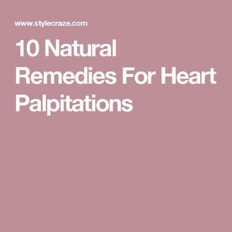 10 natural remedies for