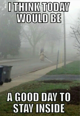 I Think Today Would Be A Good Day To Stay Inside O Funny Horror Make Me Laugh Silent Hill