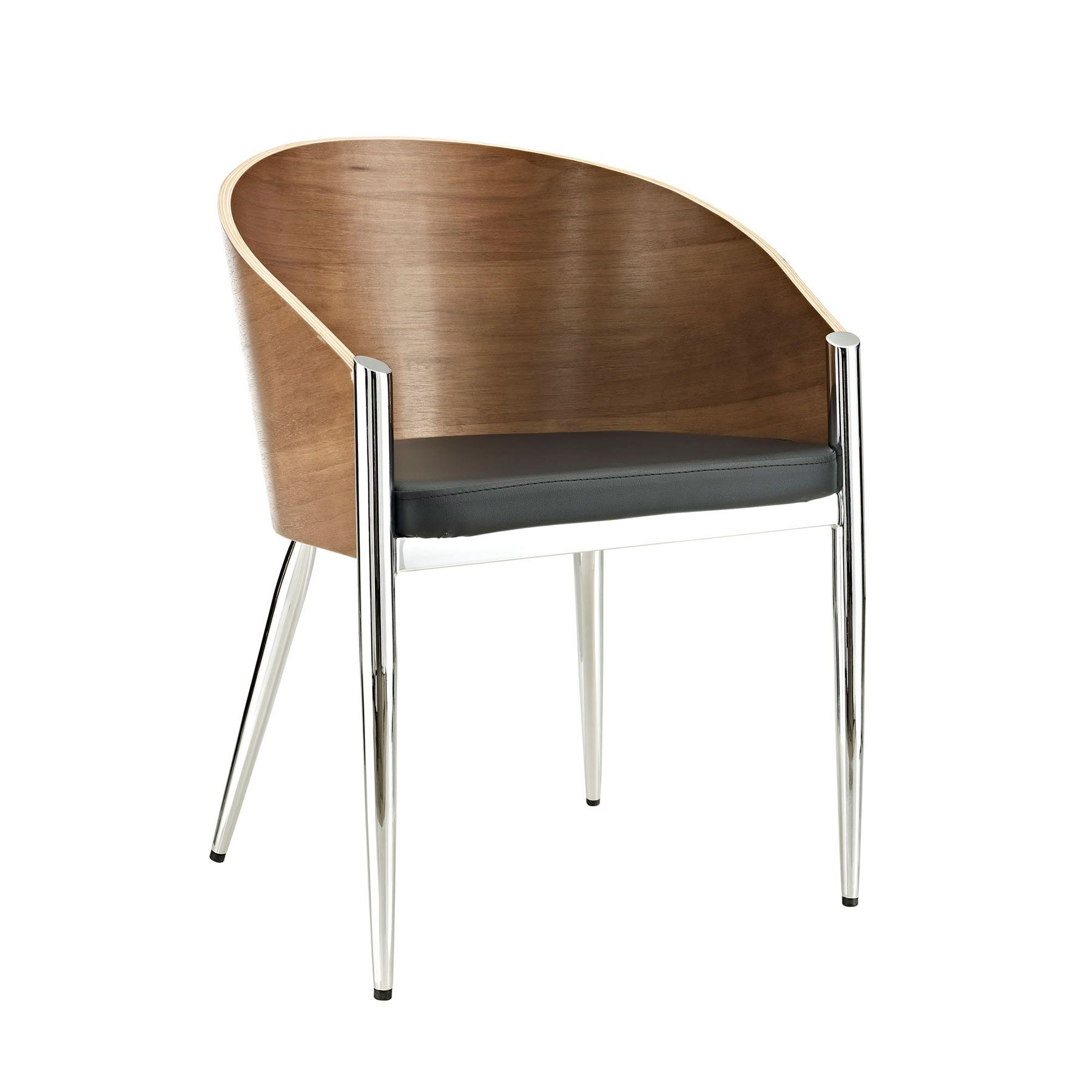 the astor dining chair provides constant support to all sitters with