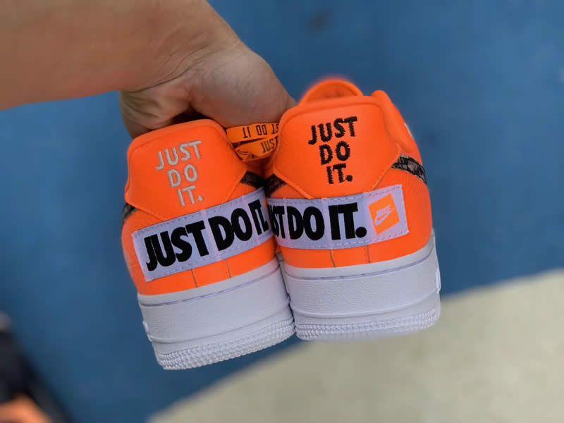 Nike Air Force 1 Low Orange Just Do It 905345 800 Www Anpkick