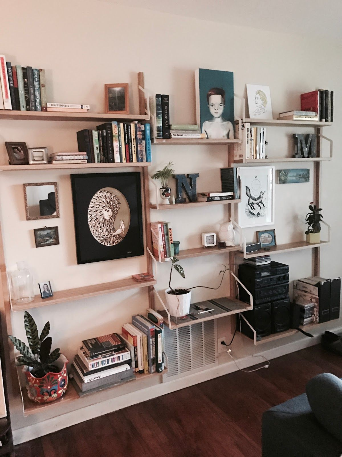 Unique Wall Unit For Drawing Room Homedecoration: Amenagement Salon, Meuble Mural Salon