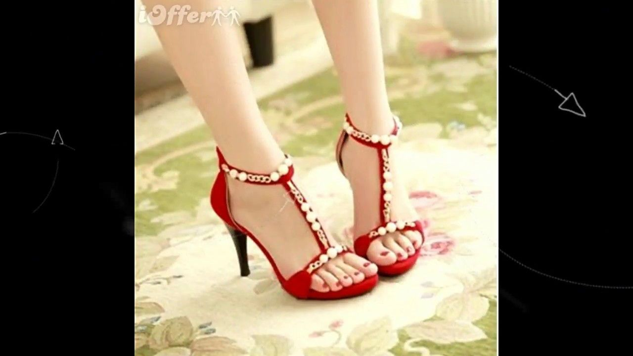 b363208f097d7 NEW Latest Designs Of Heels Shoes   For Women Girls 2018