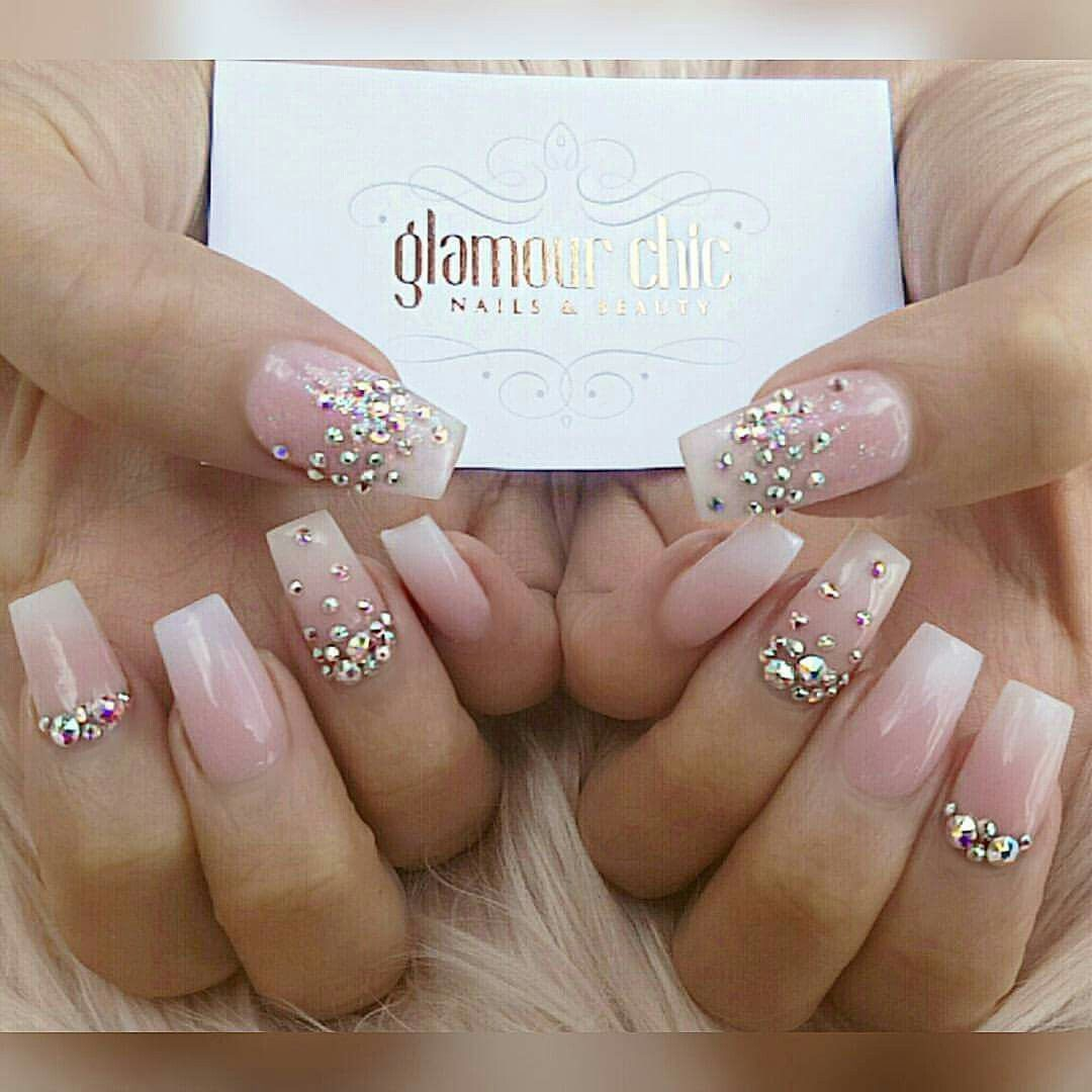 Pin by Cynthia Bryant on Nail design | Pinterest | Bling nails and ...