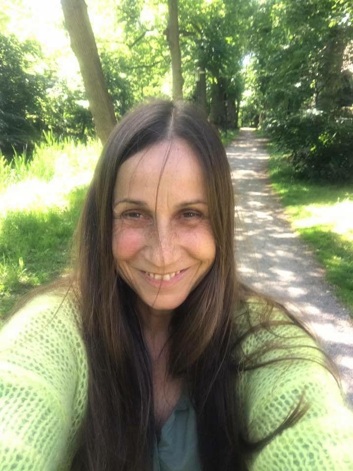Britta Steilmann enjoying a lovely weekend in bergen netherlands britta