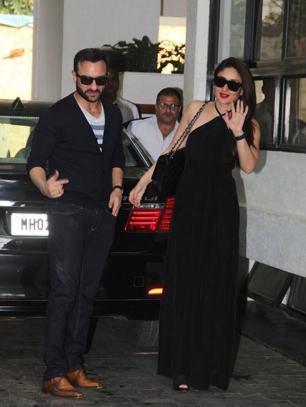 Kareena Kapoor With Her Husband Saif Ali Khan Veethi Casual Weekend Style Kareena Kapoor Trending Outfits