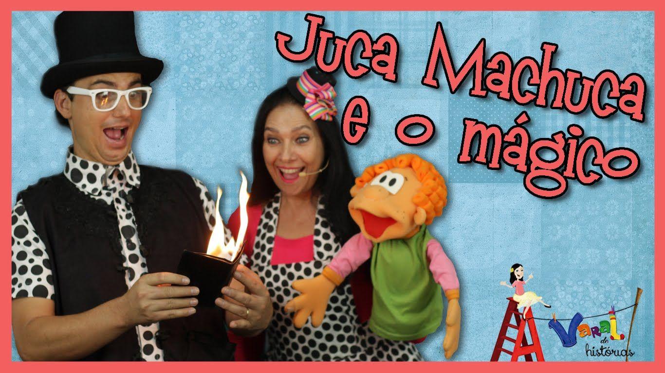 Juca Machuca e o mágico - Varal de Histórias
