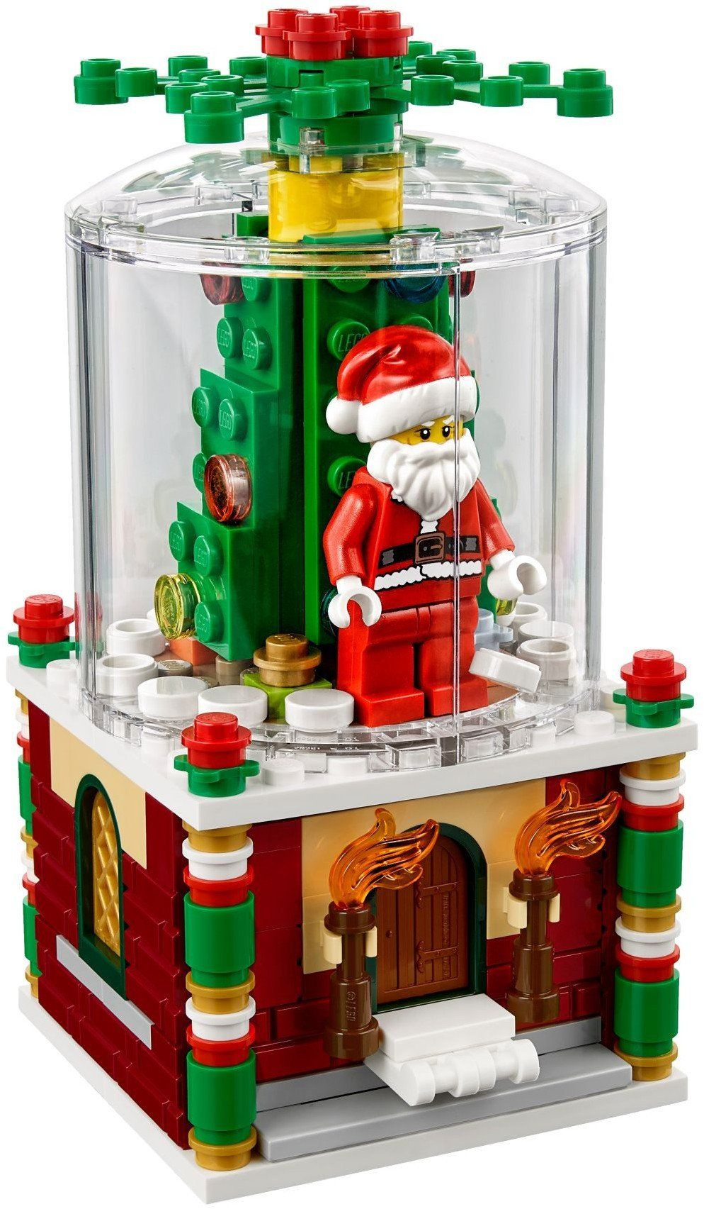Lego 2019 Christmas Set Lego 40223 Exclusive Limited Edition Snowglobe | 2018 2019 Theme