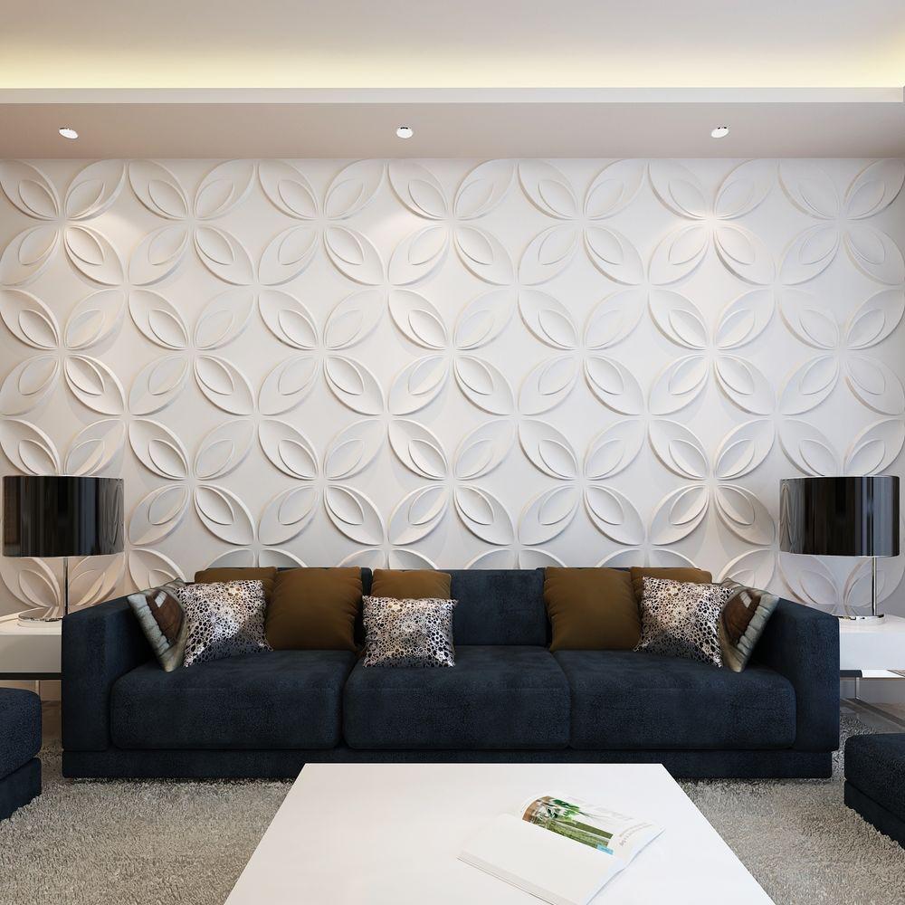 6m wandpaneele 3d wandverkleidung wanddeko deckenpaneel 0 3x0 3m 66 paneele ahome. Black Bedroom Furniture Sets. Home Design Ideas