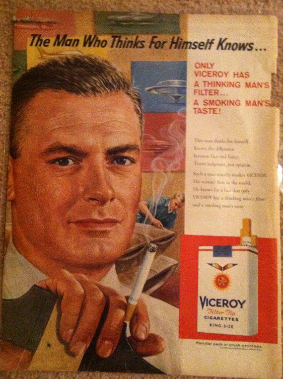 Vice Roy original advertisement 8x10 on Etsy, $8.00