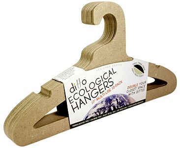 Ditto Ecological Hangers 100 Recyclable And More Closet Space